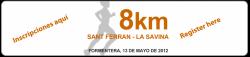8 km Sant Ferran - La Savina Formentera 2012