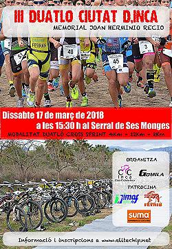 III Duatló Cross Ciutat d'Inca-Memorial J H Recio 2018