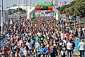 Palma s'omple de corredors i corredores amb la Mitja Marató, els 10KM i la cursa popular