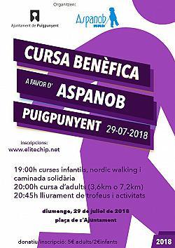 VII Cursa Solidaria Corre per Aspanob 2018