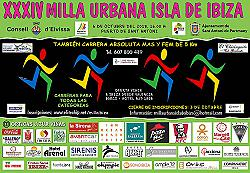 XXXIV Milla Urbana Isla de Ibiza 2018