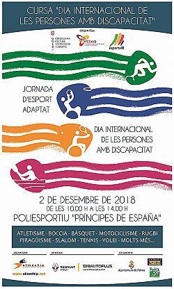 I Cursa Dia Internac. Persones Amb Discapacitat 2018
