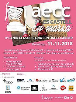 Carrera Solidaria AECC Es Castell En Marxa 2018