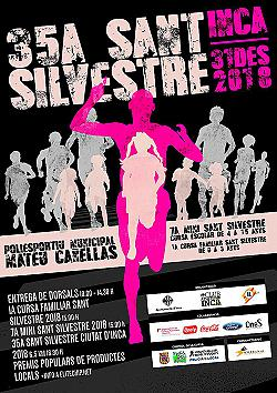 35a Cursa Popular Sant Silvestre d'Inca 2018