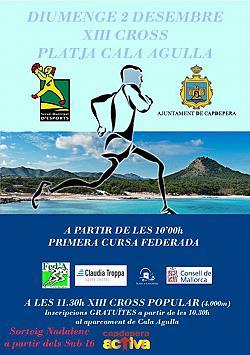 XIII Cross Playa Cala Agulla 2018