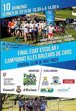 Final Edat escolar i Campionat Balears cross 2019