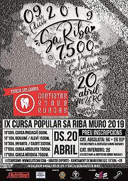 IX Cursa de Sa Riba 2019