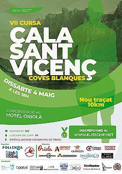 VII Cursa Cala Sant Vicenç - Coves Blanques 2019