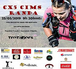 IV Cx5 Cinc Cims Randa 2019