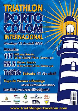 Triathlon Internacional Portocolom 111 2015