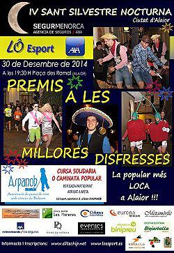 IV Sant Silvestre nocturna d'Alaior 2014