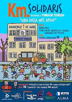 Km's Solidaris en benefici a Fundació Trobada 2015